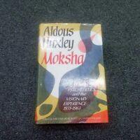 Moksha~Aldous Huxley~1st UK Edition/1st Printing 1980 Hardcover Psychedelics