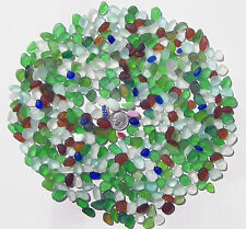 Genuine Nova Scotia Beach Sea Glass - 1/2 Lb. of JQ Drillable Tinies - 400+