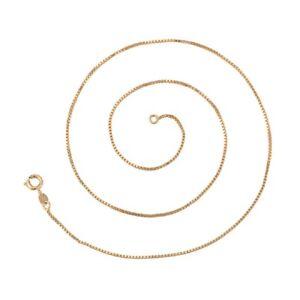 Venezianerkette 750er Gold 18k echt vergoldet Halskette Schmuck Callissi kurz