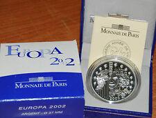 France 2002 EUROPA 1,5 euro Silver Proof - Francia 1 1/2 €  plata silber argent