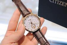 Citizen AP1052-00A Eco-Drive Moon Phase Japan Sapphire Gent's 42mm Watch