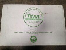 TITAN 1000 HYDROXYL GENERATOR ODOR KILLER GERMS AIR PURIFIER SAFE OZONE FREE