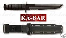 Ka-Bar KaBar Knives Black Tanto Fixed Blade 1245 *NEW in BOX*