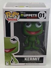 Disney The Muppets Kermit The Frog Funko POP Vinyl 01 NEW