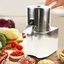 110V Commercial Electric Vegetable Cutter Kitchen Chopper Food Process Home Use