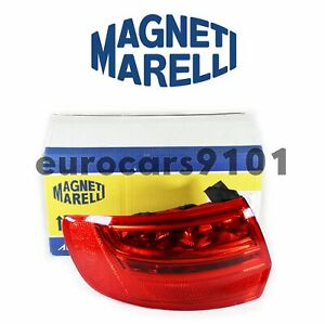 Audi A3 Magneti Marelli Left Outer Tail Light Assembly LUS5672 8P4945095F