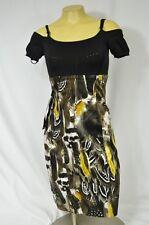 BEBE DRESS URBAN JUNGLE SWEATER PENCIL DRESS 179076 XXS XS