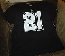 Zeke Elliott jersey t-shirt Dallas Cowboys men's XXL NEW WITH TAGS! NFL black