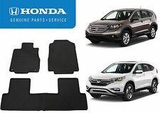 Genuine OEM Front & Rear Floor Mats For 2012-2016 Honda CR-V New Free Shipping