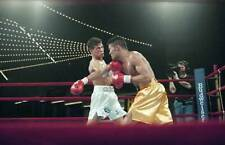 LARGE OLD BOXING PHOTO Arturo Gatti Lands A Punch v Wilson Rodriguez 3