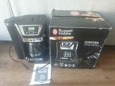 Russell Hobbs 22000 Chester Grind and Brew Coffeee black works perfectly