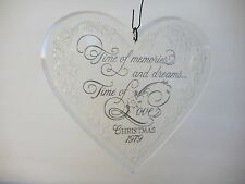 Vintage 1979 Hallmarks LOVE Holiday Highlights Collection Acrylic Ornament USA