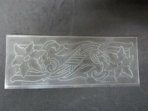 Vintage Leather Rare Billfold SPECIAL DOODLE CLUB Craftaid.
