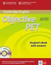 Objective PET. Student's book with answers and CD-ROM (2013, Kunststoffeinband)