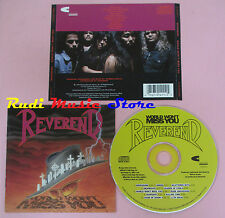CD REVEREND World won't miss you 1990 usa CHARISMA 2-91411(Xs8) lp mc dvd