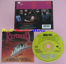 CD REVEREND World won't miss you 1990 usa CHARISMA 2-91411(Xs8) lp mc dvd