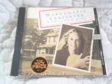 MARY CHAPIN CARPENTER HOMETOWN GIRL CD NEW DEBUT 1ST LP ALBUM COUNTRY FOLK C&W