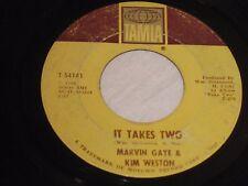 "Marvin Gaye & Kim Weston  ""It Takes Two""   Tamla 54141   R&B Soul Classic  1966"