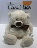 NEW Cozy Hugs Bear Aromatherapy Plush Microwavable Freezable Goldessence Scent