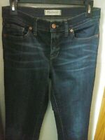 Madewell Women's Skinny Skinny Ankle Jeans Mid Rise Distressed Denim Size 27x28