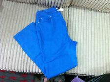 Damart Cobalt Blue Jeans, Size 20 and 31 Inside Leg