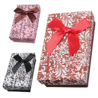 10Pcs Jewellery Gift Boxes Necklace Pendant Bracelet Ring Display Storage  P2R8)