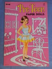New ListingPre-Teen Paper Dolls. Saalfield. Vintage. Original. Uncut. Mint. $10.00