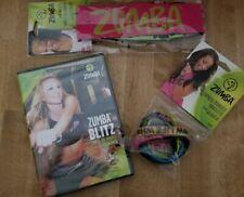 Zumba Fitness Kit 1 DVD blitz, 6 bracelets and 2 headbands start your workout!!!