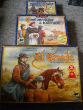 Brettspiele. El Grande.Spanien im Mittelalter+2Ergänz.Sp.,gebraucht,guterZustand