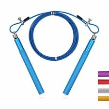 Speed Jump Rope Double Under For Boxing Thai Cross Fit Fitness Training Swivel