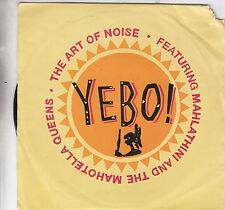 "ART OF NOISE - yebo / dan dare 7"""