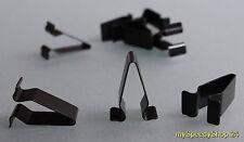 5x Blech Klemme Metall Halterklammern Clips Klip Mutter Audi VW Seat Skoda