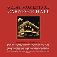 GREAT MOMENTS AT CARNEGIE HALL 43 CD NEU
