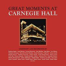 GREAT MOMENTS AT CARNEGIE HALL 43 CD NEU