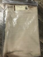 Longaberger OVAL LAUNDRY Basket LINER in OATMEAL NEW Fabric Beige RARE