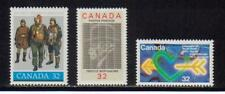 1984-85 Canada SC# 1043-1045 - Canadian Air Force,Youth Year Lot# 157 M-NH
