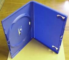 5 DVD Hüllen Case Cases 1fach DVDhülle Hülle blau farbig 1er Neu