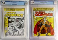 Inside Comics # 1 & 2 CGC 9.6 & 9.4 - 1974 Robert Crumb Steve Ditko & C.C. Beck