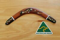 Hand Crafted and Hand Painted Australian Made 29cm Throwing Boomerang (Kangaroo)