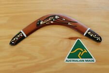 Hand Crafted and Hand Painted Australian Made 29cm Throwing Boomerang (Kangaroo)
