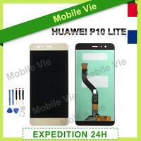 VITRE TACTILE + ECRAN LCD ORIGINAL PRET-A-MONTER POUR HUAWEI P10 LITE 2016 OR