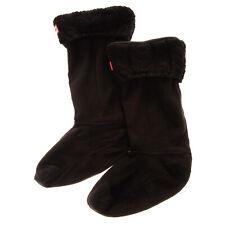 HUNTER Fleece Tall Welly Boot Socks Size M / UK 3-5 / EU 36-38 Cable Knit Cuff