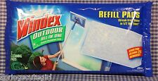 1 Pack Windex Outdoor Glass Cleaning Tool (2 Refill Pads) Cleans 20 Windows
