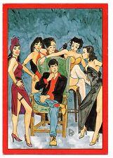 DYLAN DOG cartolina FEMMINE FATALI postcard promo card ANGELO STANO glamour