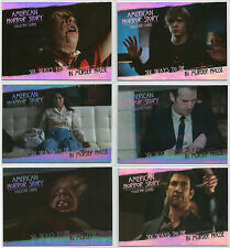 American Horror Story SDCC 2014 ~ SIX WAYS TO DIE 6-Card Insert Set (ACC1-ACC6)