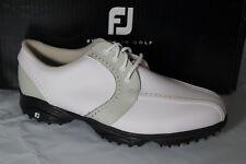 FootJoy GREENJOYS WOMEN'S GOLF SHOES, SIZE 9.5, WHITE/CLOUD, 48357