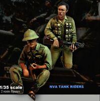 1/35 Resin NVA Tank Riders Nam War unpainted unassembled CK041