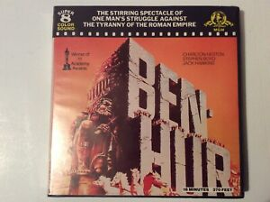 """BEN HUR"" SUPER 8 COLOUR SOUND 400FT CINE FILM 8MM"