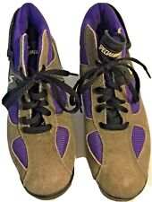 Specialized Mountain Bike Shoes Women's Size 38 Euro Bicycle Shoes Purple Brown
