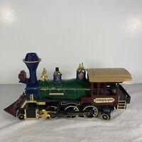 Vintage GreatLand 1992 Express Train Locomotive Engine ONLY Blue Red Gold *READ*